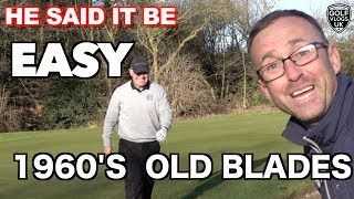 Baixar PRO PLAYS GOLF WITH 1960'S BLADES AND NOT THE NEW PING G 410 DRIVER JUST A OLD DRIVER