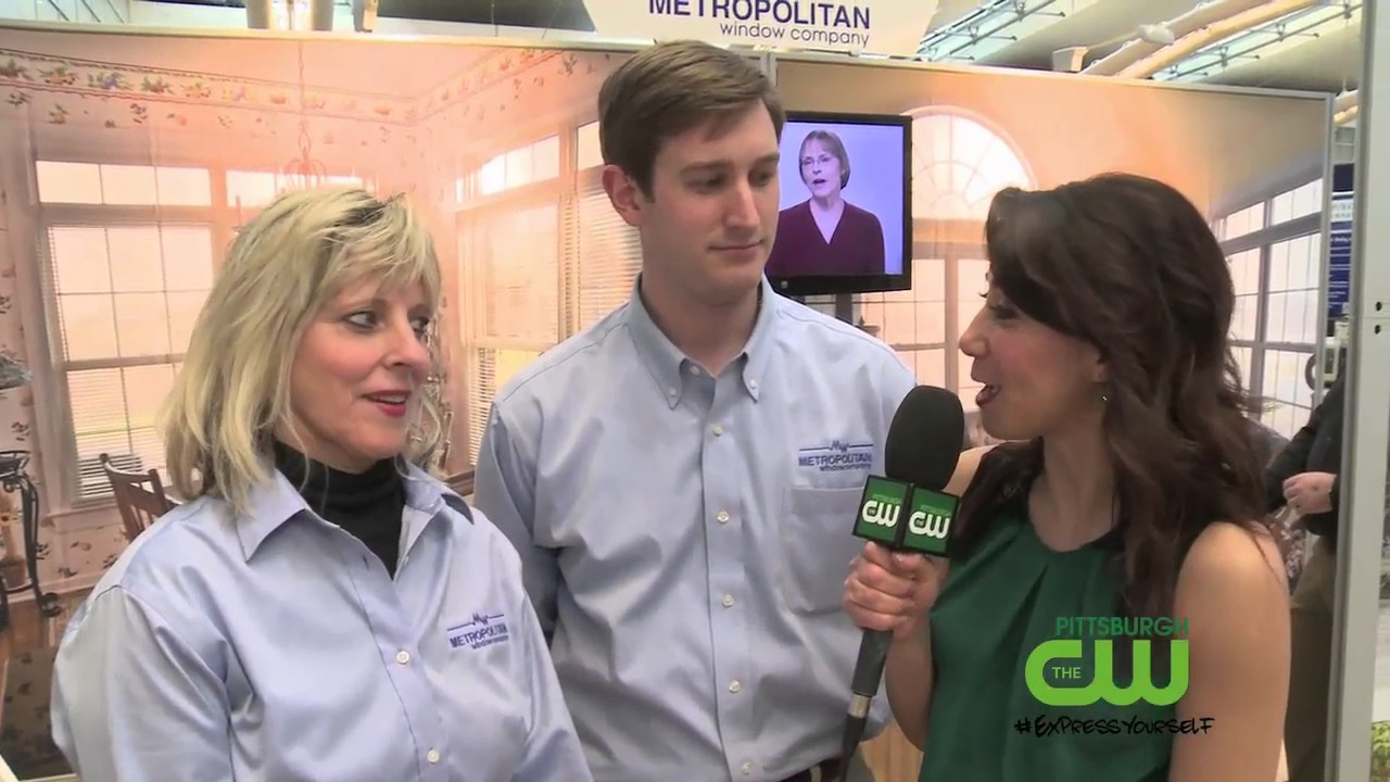 Metropolitan Windows And Pittsburgh 39 S Cw Green Team At 2017 Pgh Home Garden Show Youtube