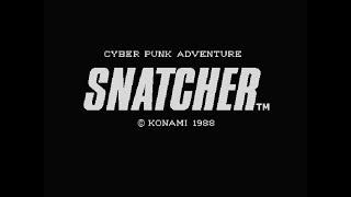 [BGM] [msx2] [scc-I,psg] スナッチャー [SNATCHER]