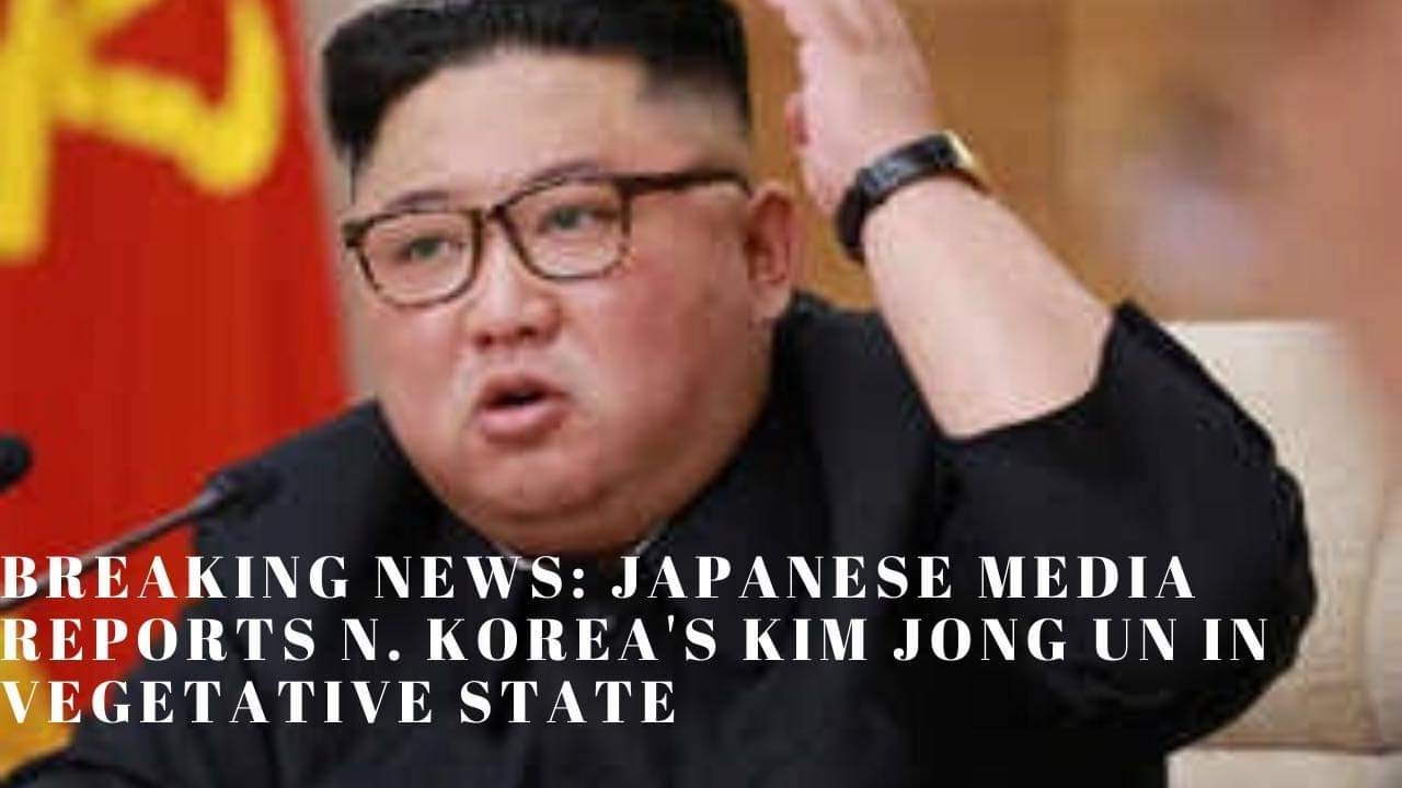 Kim Jong Un in 'vegetative state,' Japanese media report says