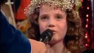 Amira Willighagen - Interview before Performance - Semi-Finals Holland's Got Talent - 21/12/2013