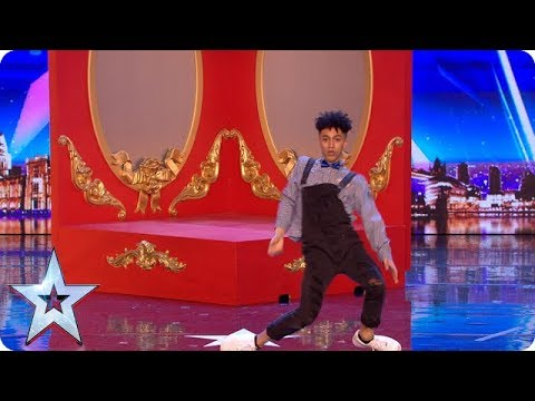 Shameer Rayes brings ALL of the moves to our stage! | Auditions | BGT 2018