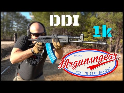 DDI Hammer Forged AK-47; The First 1,000 Rounds! (HD)