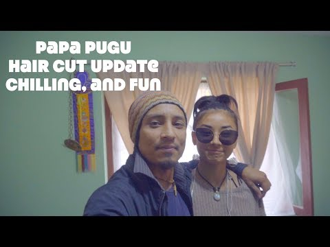 Papa Pugu||Dixita and chetan||Chilling Around/Haircut vlog