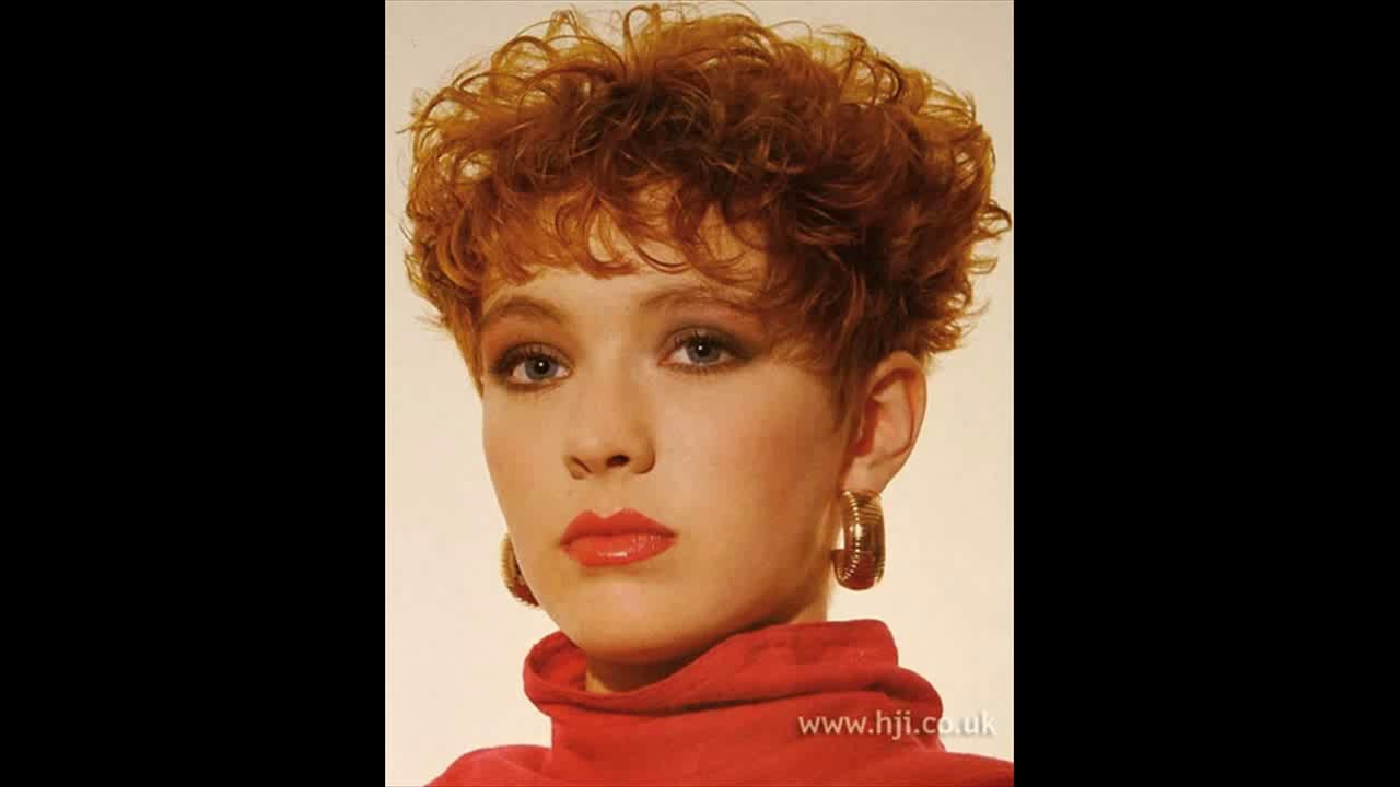 Perm hairstyles short hair - YouTube