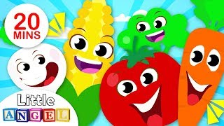 Yum Yum Vegetables Song, No No, Princess Songs, Apples & Bananas Nursery Rhymes by Little Angel
