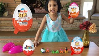 Kinder Joy Egg Surprise | Open Kinder eggs | Sefu Play Time | Surprise Toys and Chocolate