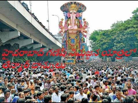 Teenmar & DhoMaar Dance Hyderabad Band Beet @ Ganesh Nimajjanam 3n Mar Dance