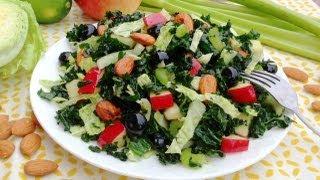 Summer Kale Salad Recipe - Getfitwithleyla