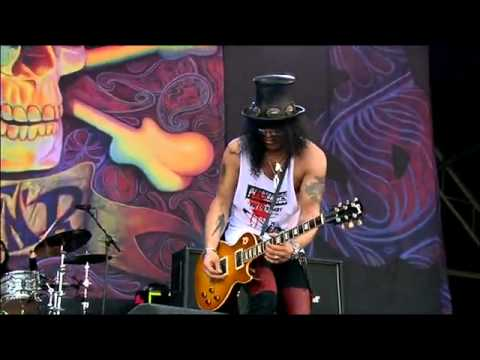 Guns N Roses Slash - Sweet Child O' Mine - @ Glastonbury Live Concert 2010.flv