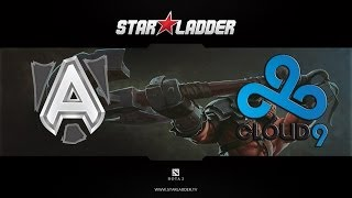 Alliance vs Cloud9 @ Starladder IX Casper ( 09.04.2014 )