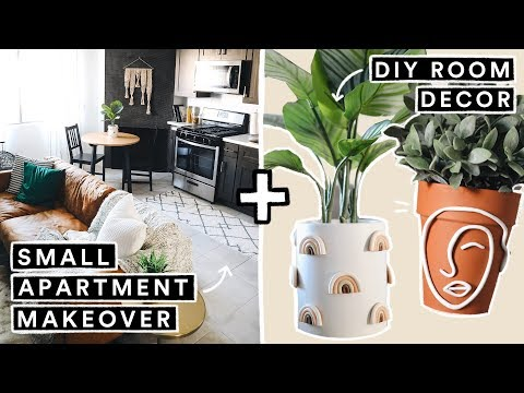 EXTREME Small Apartment Transformation + DIY Room Decor – Part 1