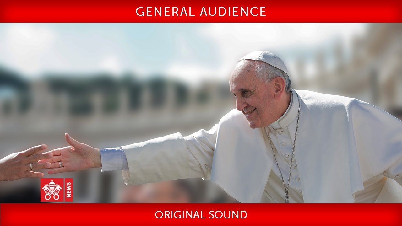 Papal Audience Schedule 2019 Pope Francis   General Audience 2019 05 08   YouTube