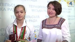 Анастасія Бачинська з Тернопільщини брала участь у Всесвітній літній Гімназіаді в Марокко