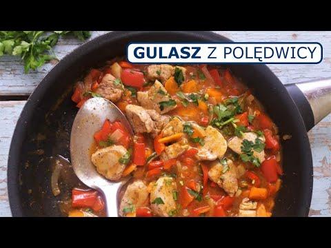 Gulasz z polędwiczki wieprzowej / Pork Tenderloin Stew