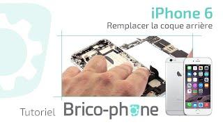 Tutoriel iPhone 6 : remplacer la coque arrière  démontage + remontage  HD