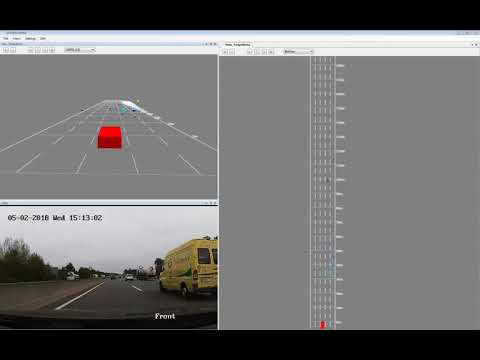 smartmicro Automotive Radar 4D UHD 77GHz Long Range Mode