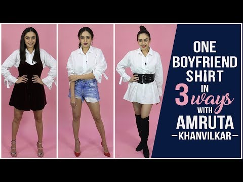 Amruta Khanvilkar shows us how to style an...