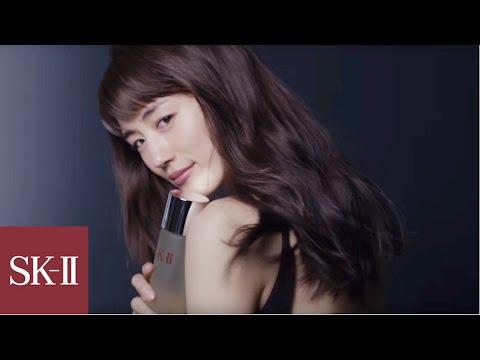 綾瀬はるかの素肌の運命を永遠に変えたスキンケアの秘密 | SK-II Japan - YouTube