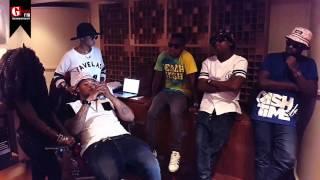 CashTime Fam at the Gagasi FM Studio