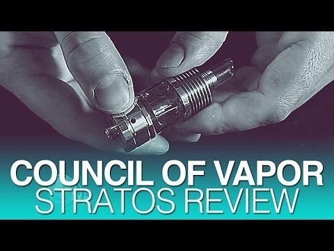 Council of Vapor Stratos Tank Review