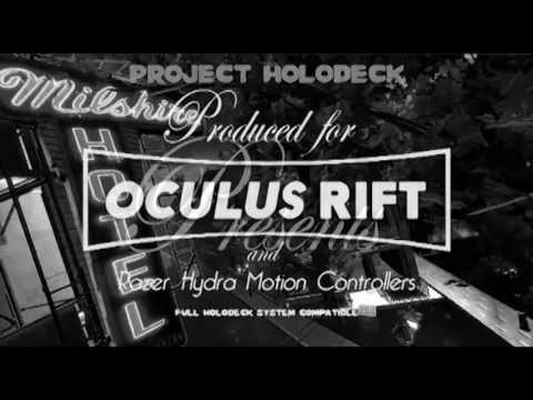 Zombies on the Holodeck! VR Game Designed for Oculus Rift and Razer Hydra