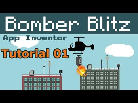 App Inventor Bomber blitz | helicopter bomber p01