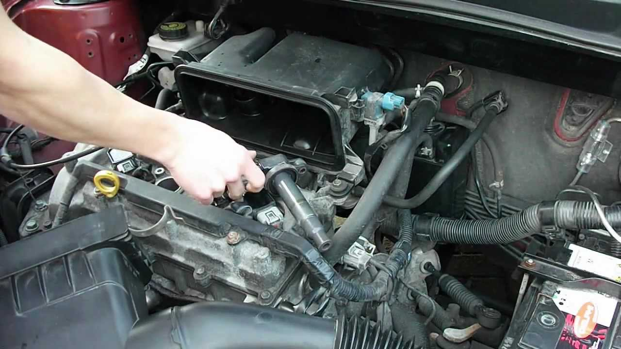 change spark plugs tutorial toyota yaris youtube