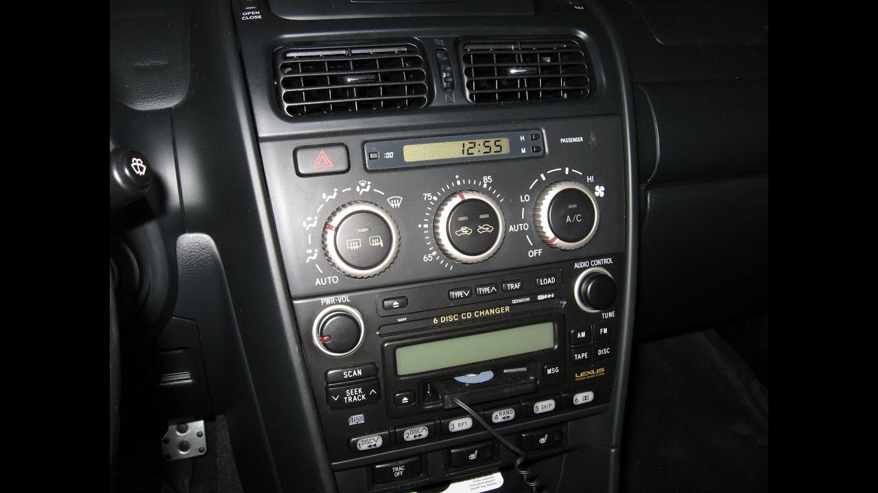 Lexus Noise Dash Board Is300 Ignition On By Froggy Youtube