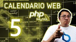 Calendario web con PHP y MySQL utilizando fullcalendar (Video 5 - Eventos en el calendario)