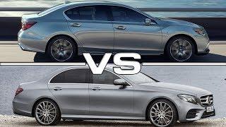 2019 Acura RLX vs 2018 Mercedes E-Class
