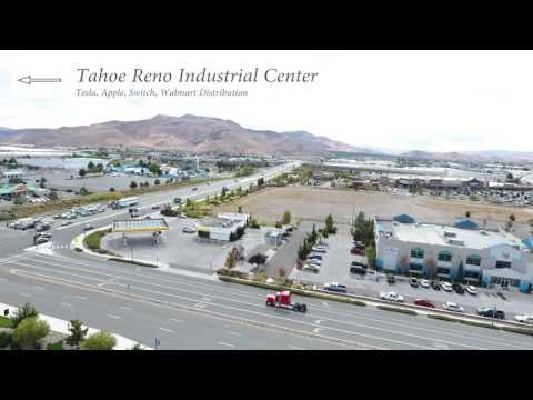 Aerial Video for CRE Commercial Real Estate in Nevada