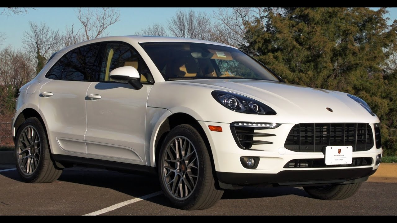 2016 Porsche Macan S Test Drive Amp Review Youtube