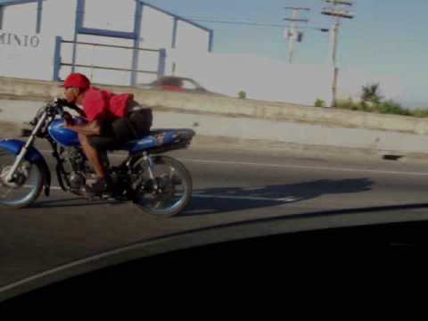 Santo Domingo  Motorcycle Stunts Las Americas