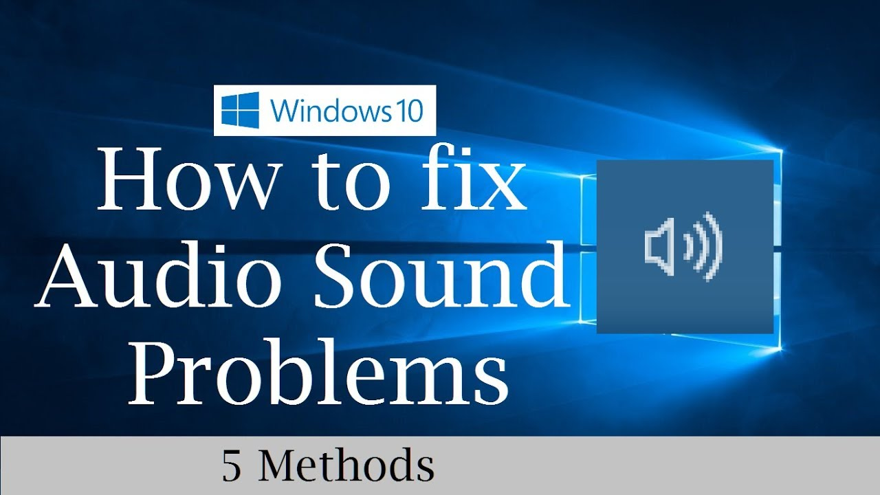 how to stop sound from windows 10