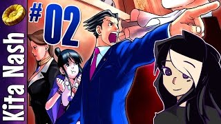 Phoenix Wright Walkthrough Part 2: TOUPEE TROUBLE |Ace Attorney Case 1: The First Turnabout