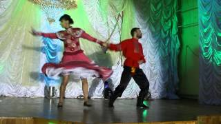 Ой, как ты мне нравишься... Народный танец Розы и Юры
