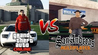 Reasons Why GTA SAMP Is Better Than GTA Online