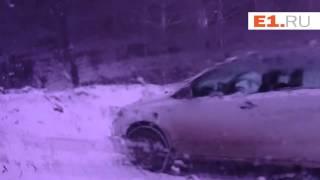 На Серовском тракте весь день происходили аварии из-за погоды