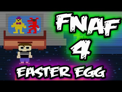 FNAF 4 EASTER EGG || SISTER LOCATION HINT?! || Five Nights at Freddy's 4 Easter egg Night 3