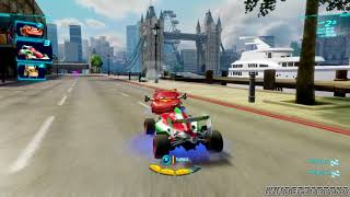 Cars 2: The Video Game | Francesco Bernoulli - Buckingham Sprint! | WhitePotatoYT!
