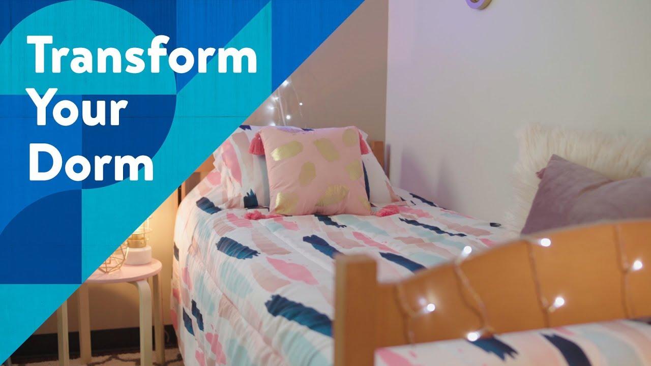 Transform Your Dorm | Glam Room Makeover