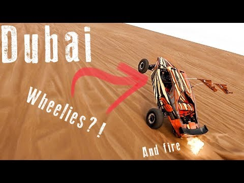 Dubai 1600HP Dune Buggies doing Wheelies..  What more do you want?