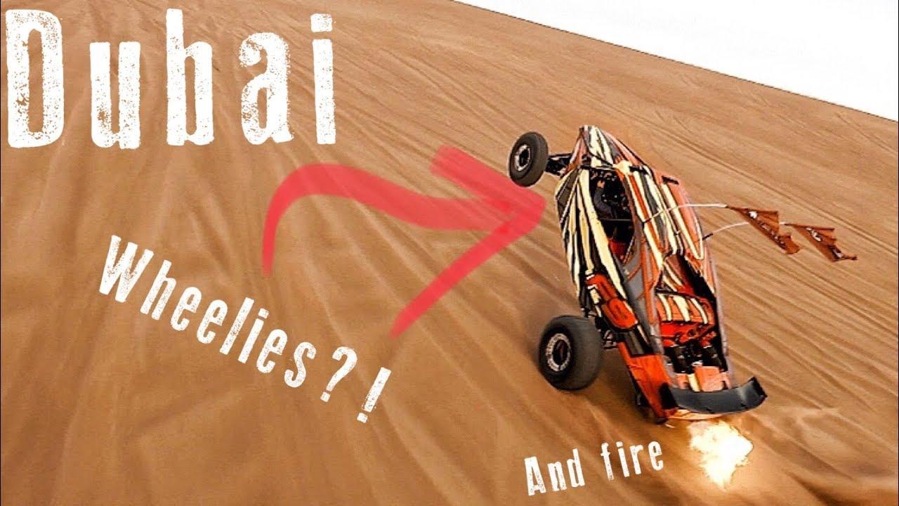 Dubai 1600HP Dune Buggies doing Wheelies   What more do you want?