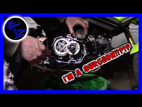 2017 GROM SF OIL CHANGE!! | How To Do Stuff