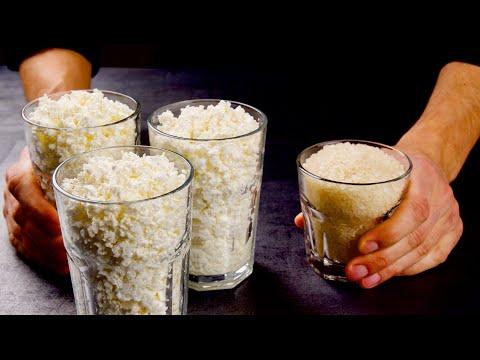 Неожиданно! Просто смешайте рис и творог! Гениальное сочетание вкуса и пользы в одном блюде!