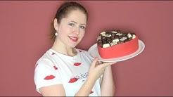 Suklaarasiakakku ystävänpäiväksi