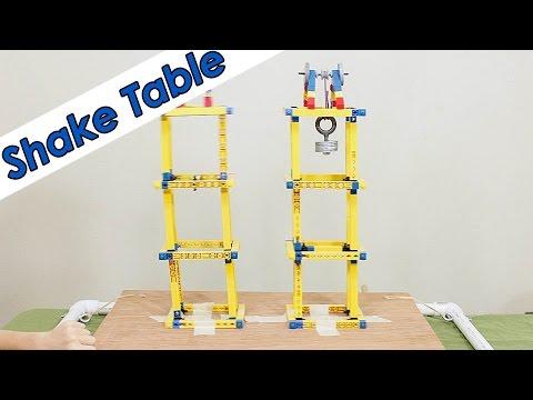 Build an Earthquake Shake Table - DIY