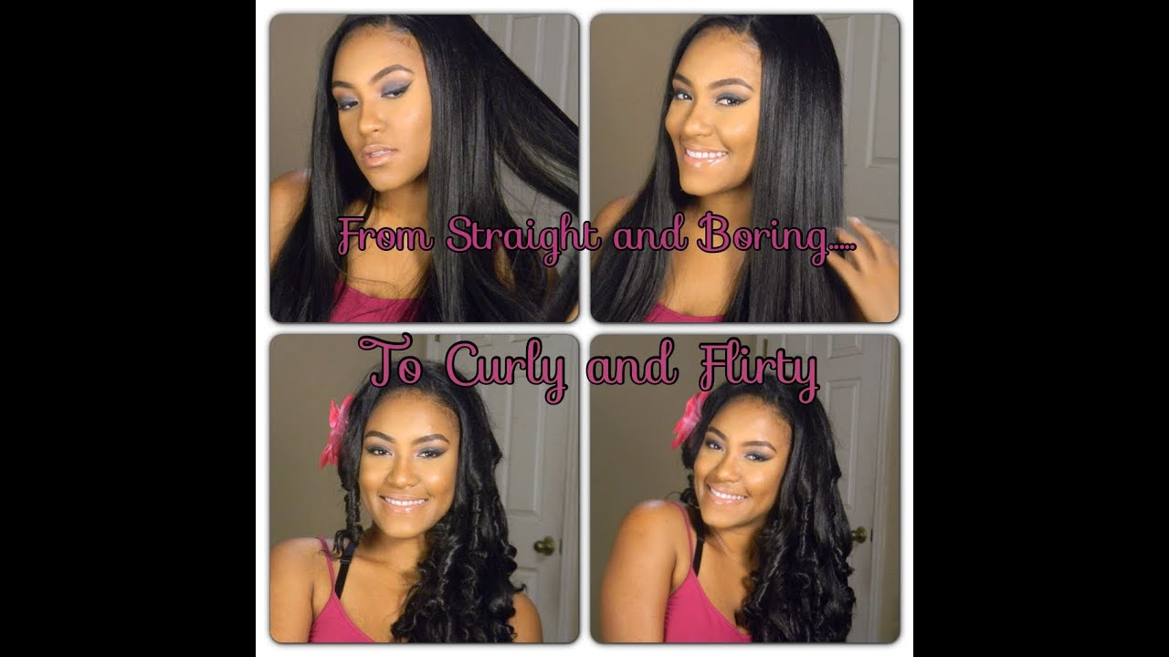 Transform Your Synthetic Wig From Straight And Boring To Curly And