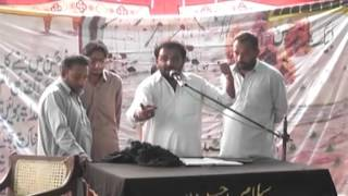 Zakir Ali raza khokhar Part 2 at jhang 29 feb 2016 Jalsa Tahir Imran